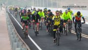 Um passeio de Mountain Bike com 100 quilômetros e quase 500 ciclistas.